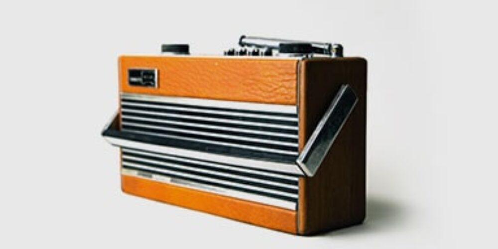 Brown old casset